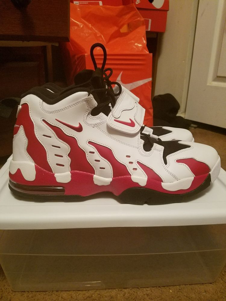 wholesale dealer 571f9 bb7d7 Nike Air DT Max 96 (White Varsity Red Black) Size 13 (Like N3W) Nike Air Max   fashion  clothing  shoes  accessories  mensshoes  athleticshoes (ebay link)