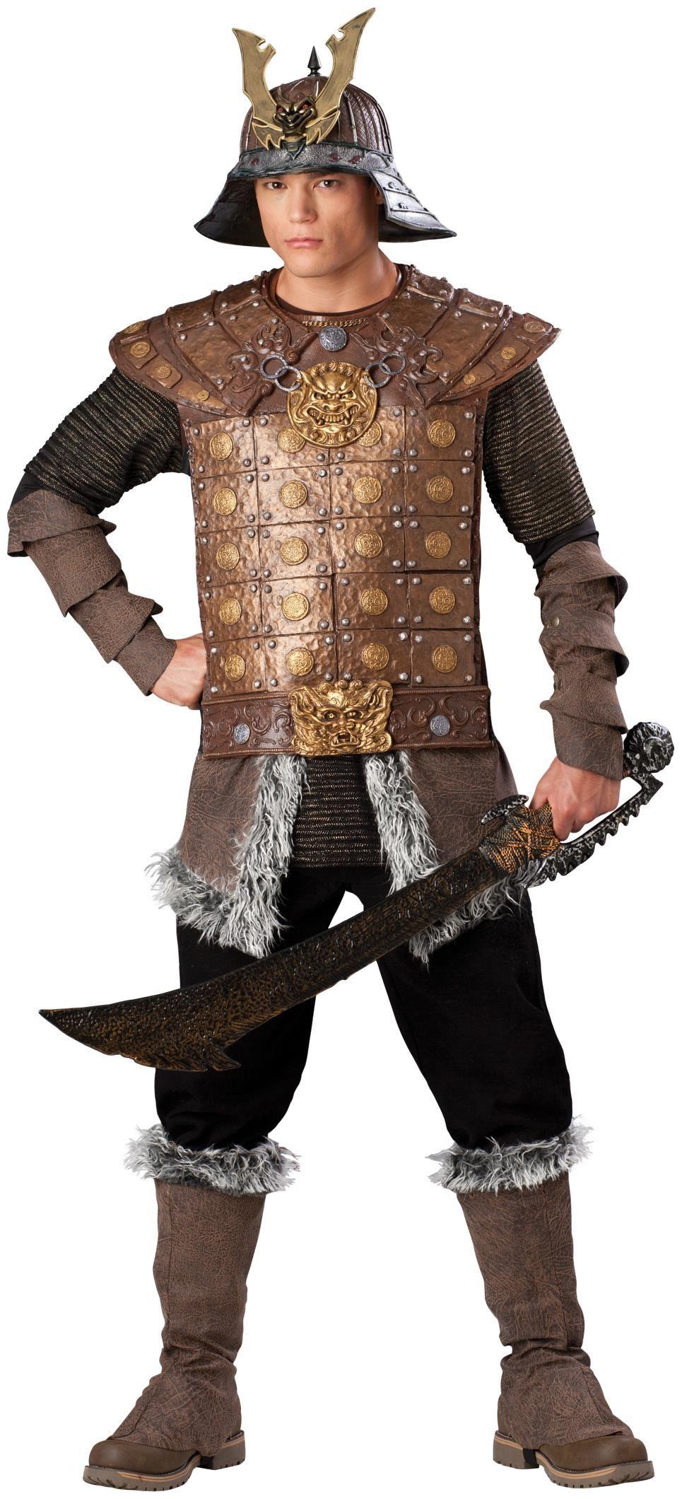 7cedee36 Genghis Khan Elite Adult Costume   Men Costumes   Samurai costume ...