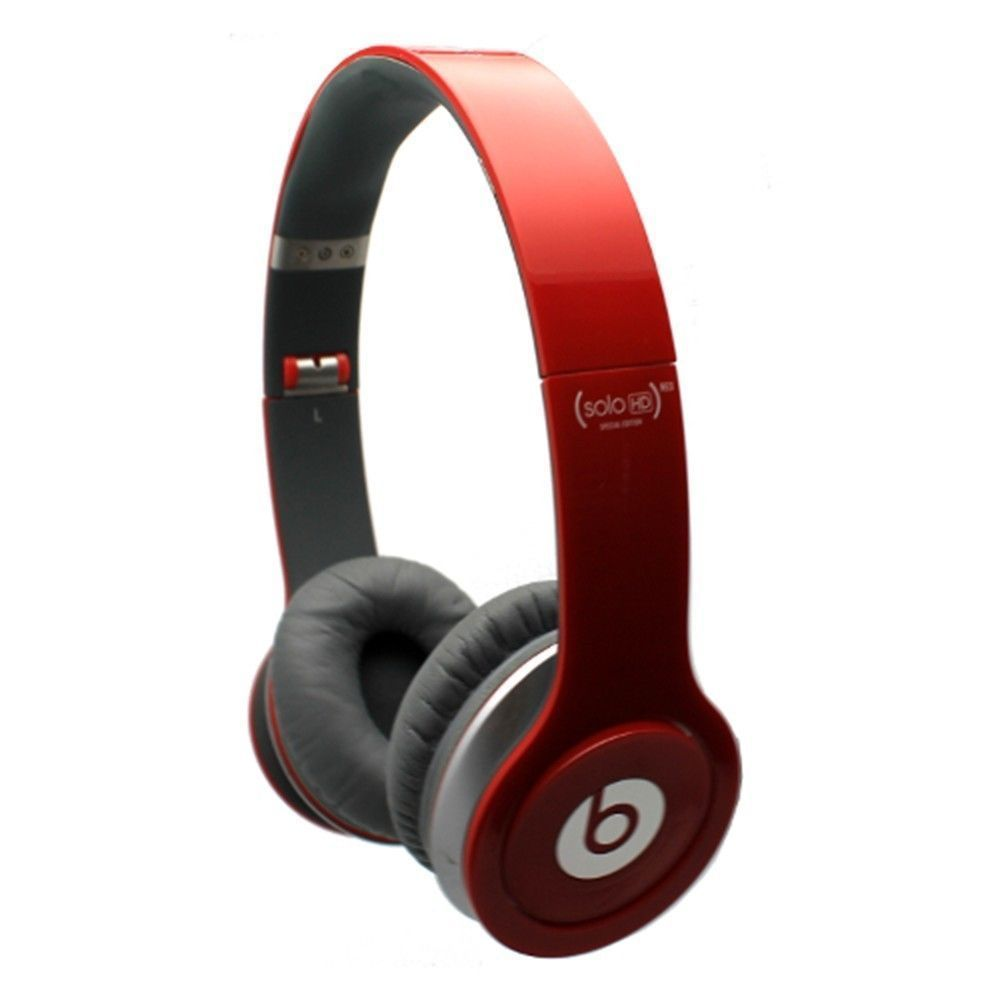 Beats By Dr Dre Solo Hd Special Edition Headband Headphones Red Beatsbydrdre Beats Solo Hd Headphones Ear Headbands