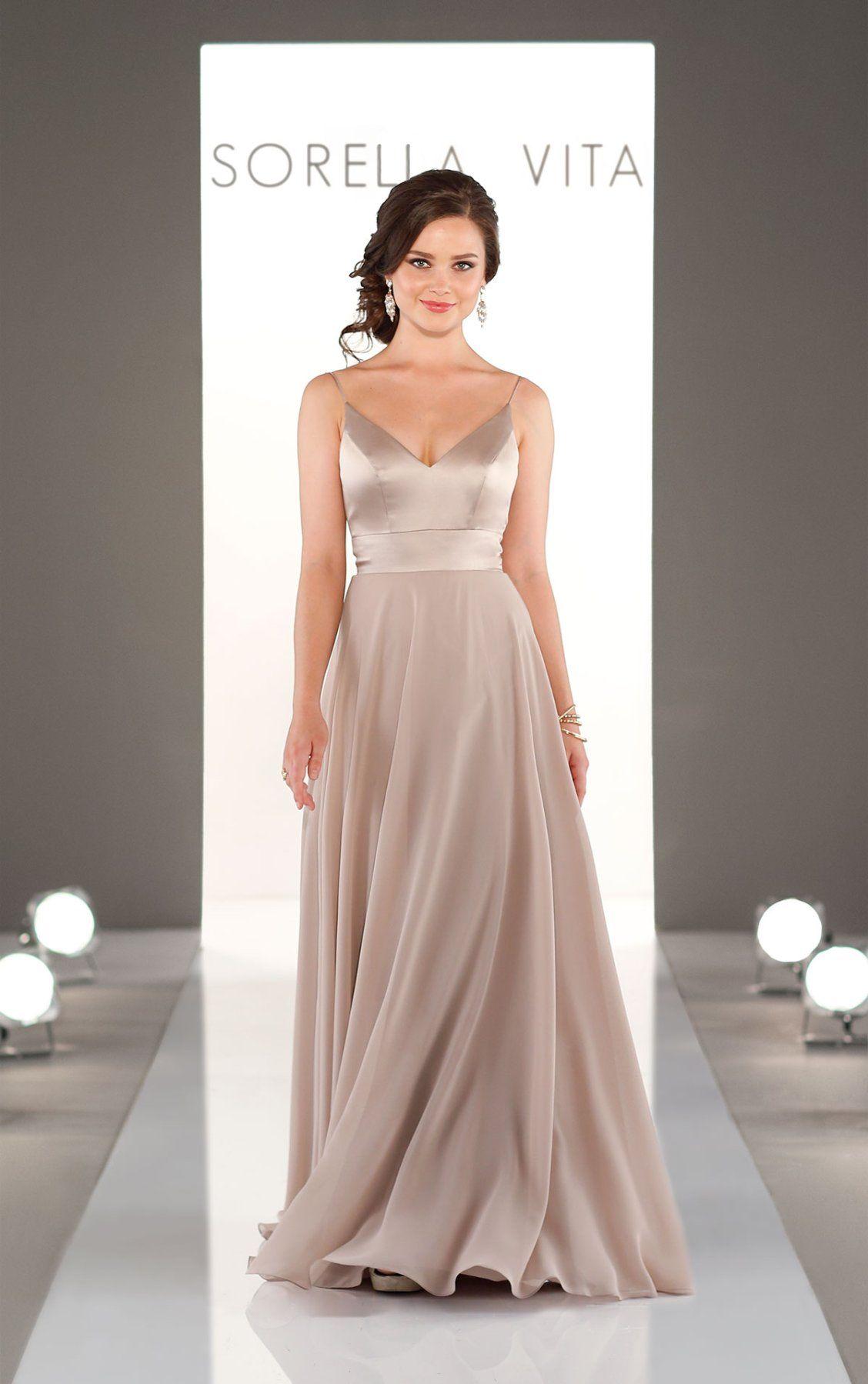Mixed fabric bridesmaid dress pinterest satin weddings and wedding