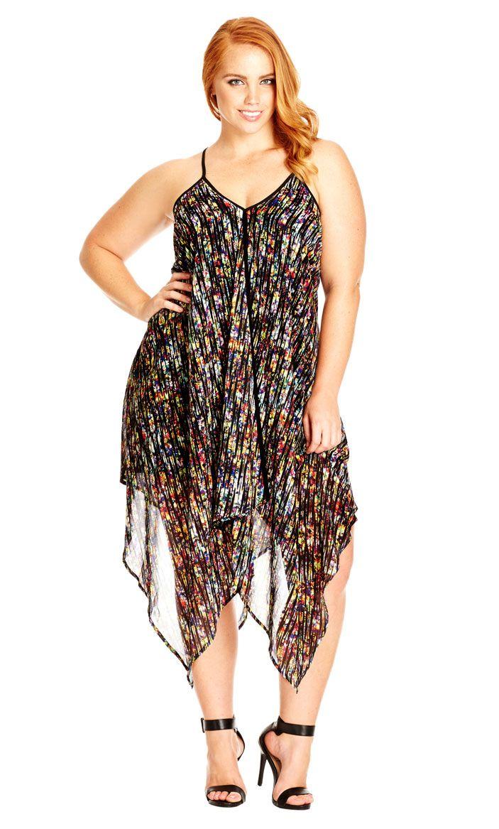 da63735922f City Chic Rainbow Scratch Dress - Women s Plus Size Fashion City Chic - City  Chic Your Leading Plus Size Fashion Destination  citychic  citychiconline  ...