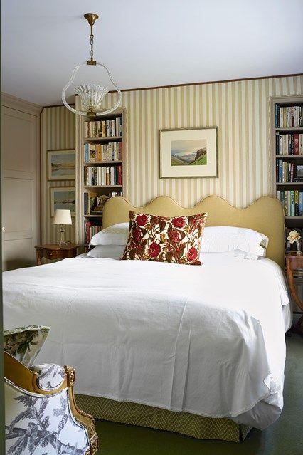 Small bedroom alcove bookcases | Home decor, Interior ...