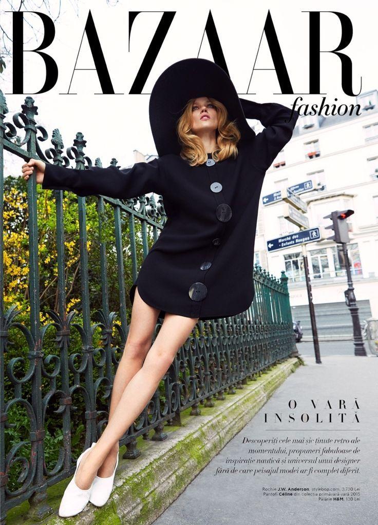 """What is Retro Now"" Masha Novoselova for Harper's Bazaar Romania July 2015"