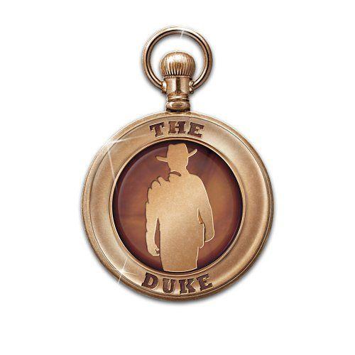 John Wayne Pocket Watch Bradford Exchange. $119.00