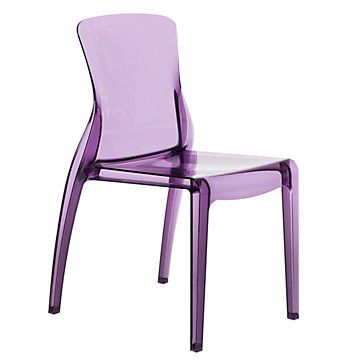 Fun idea for a desk chair for lavender/navy girls room. Great find, Andrea!
