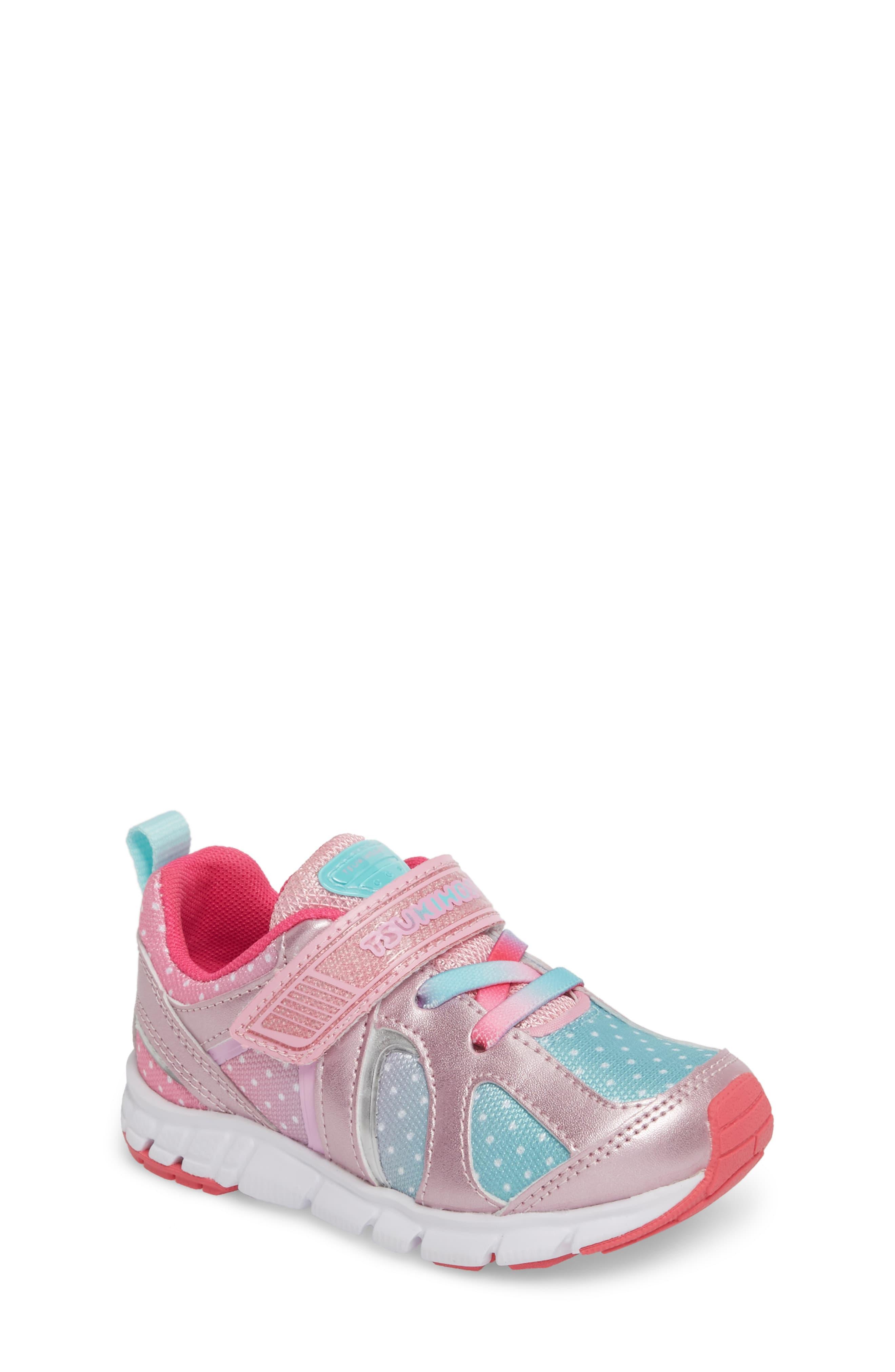 Tsukihoshi Rainbow Washable Sneaker Walker Toddler Little Kid Big Kid Nordstrom Girls Sneakers Sneakers Toddler Girl