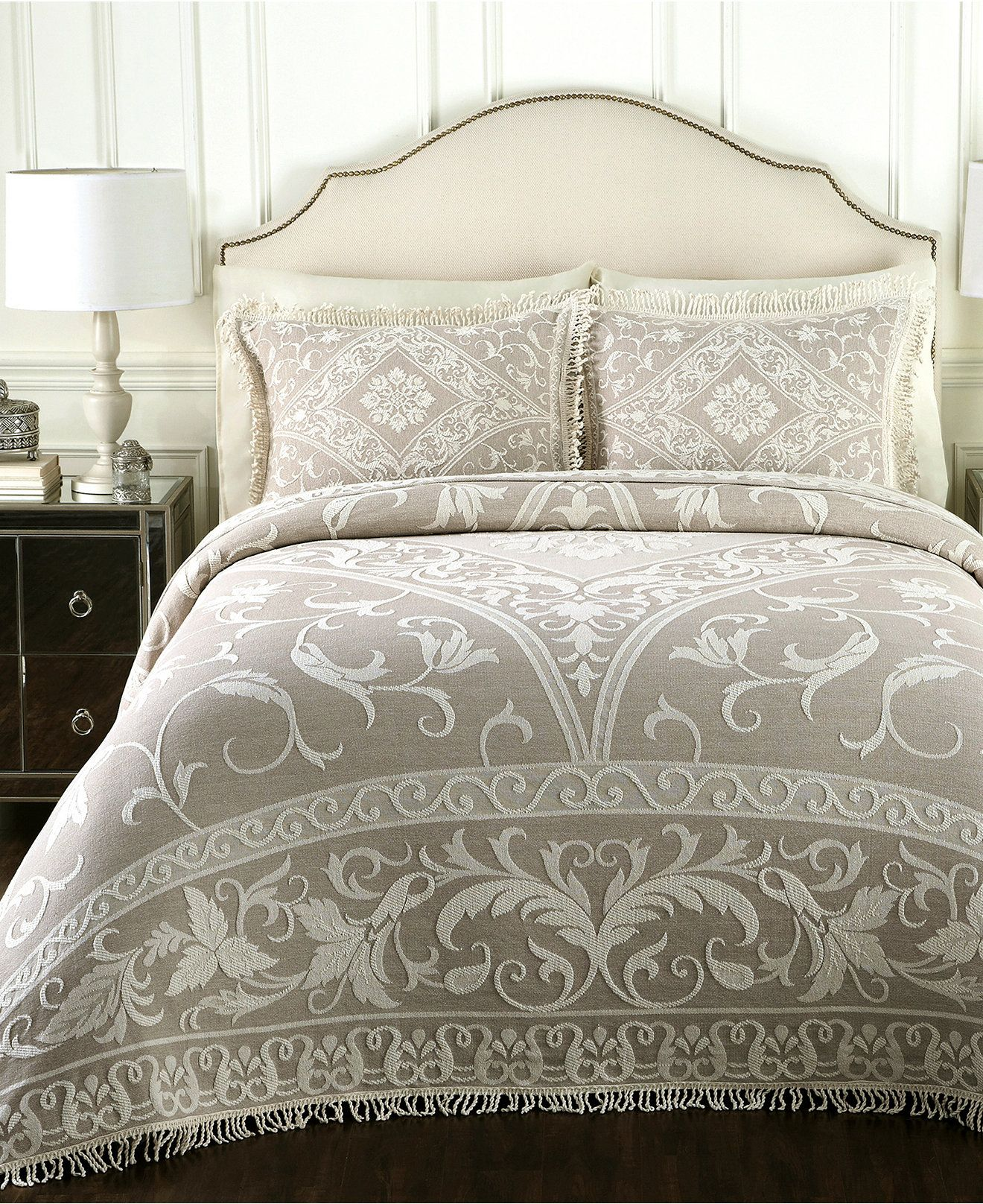 Gabriella Linen Bedspread Collection - Bed in a Bag - Bed & Bath - Macy's