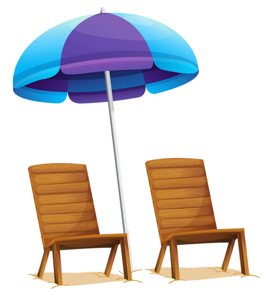 Transparent Beach Umbrella And Chairs Png Clipart Festa Fundo Do Mar Decoracao Festa Tema Praia Festa