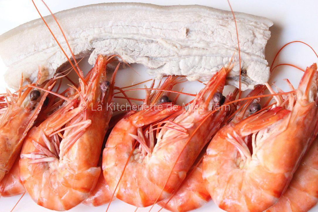 Salade de pamplemousse aux crevettes La Kitchenette de Miss Tam 22