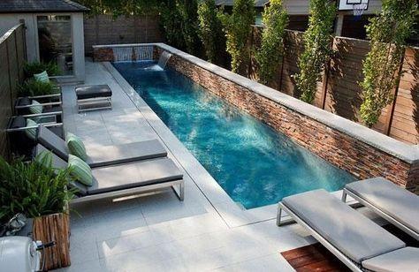 swimmingpool design ideen flachen, swimmingpool design hinterhof gestaltung ideen tipps entspannung, Design ideen