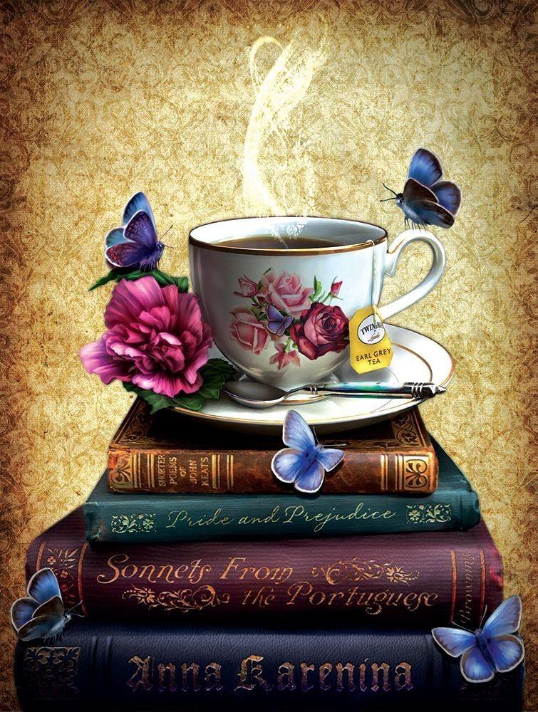 Pin by Sophia Veleda on 2020 vision board Tea and books