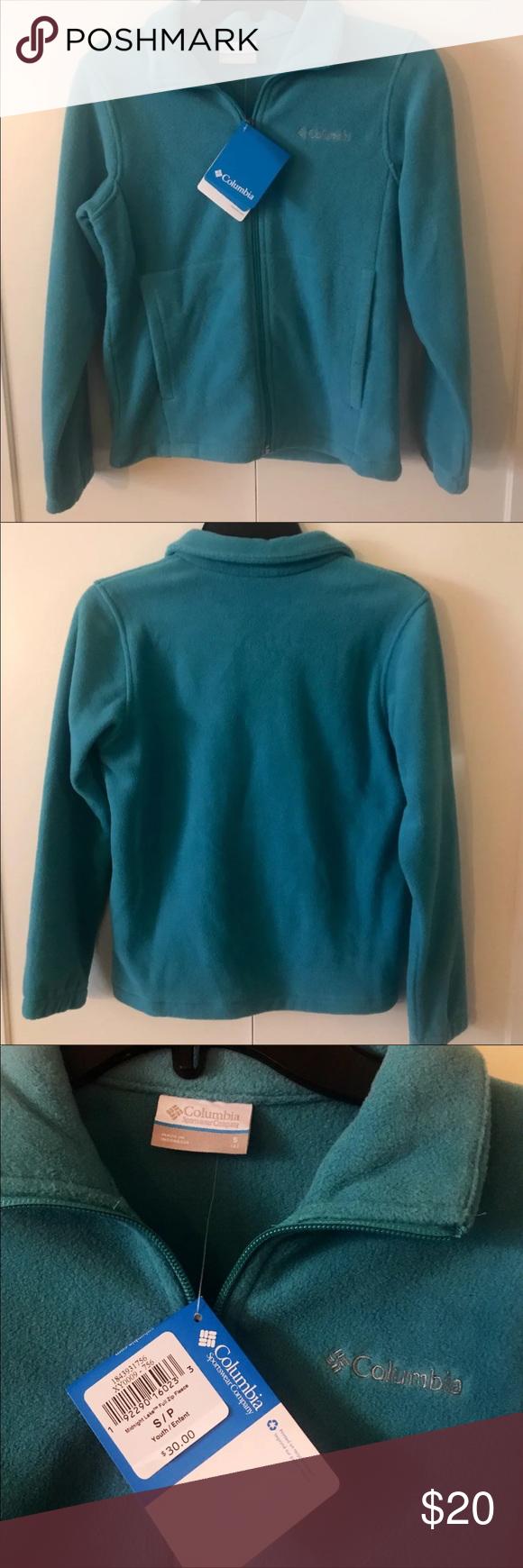 Columbia Kids Fleece Sweater Brand New Columbia fleece sweater for girls in size…