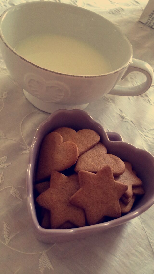 Milk and Gingerbread ❤️