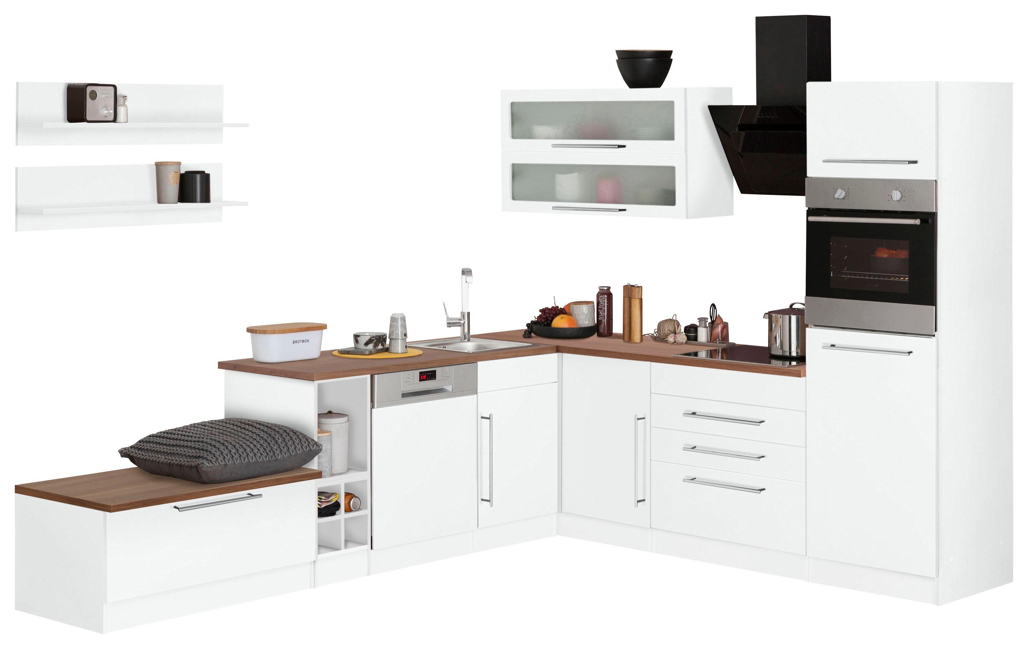 Held MÖbel Winkelküche Samos Ohne E Geräte Stellbreite 300 X 250 Cm Von Baur Winkelküche Held Möbel Küchenschrank