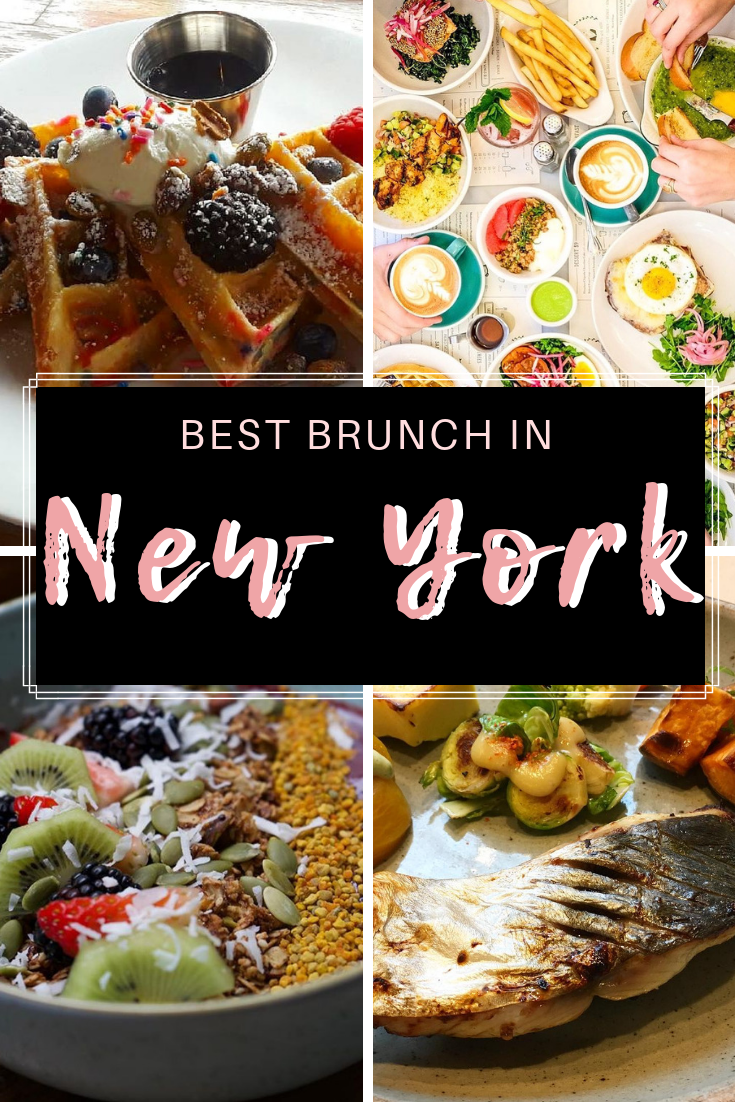 Best Brunch In New York City By Cuisine Foodie travel