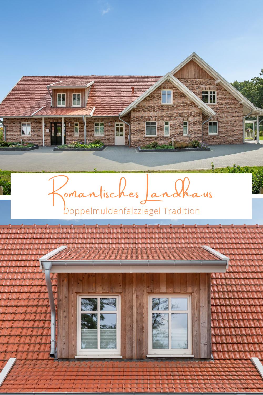 Romantisches Landhaus mit Doppelmuldenfalzziegel Tradition