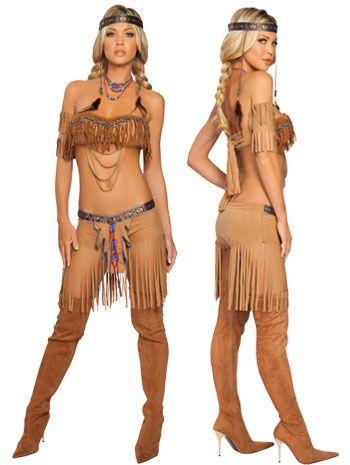 Sexy Cherokee Warrior Indian Girl Costume Price 54 99