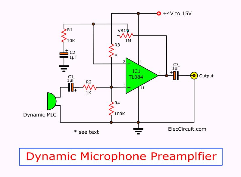 Tl084 Circuits Jfet Input Op Amp Datasheet Eleccircuit Com Electronic Circuit Projects Circuit Audio Amplifier