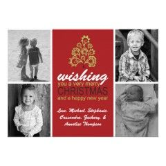 Christmas Tree Holiday Greeting Card