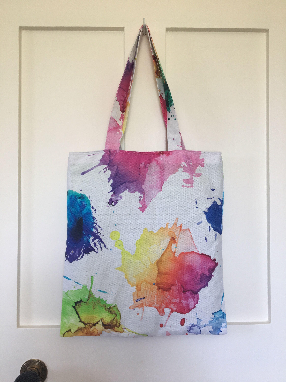 green Fabric Bag Upcycling Cotton Bag  Shopping Bag Shoulder bag handmade Bag Bag Bag with Border