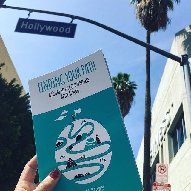 Day Stargazing - - - - - - - - - - - - - #findingyourpath #hollywood #bookgram #instabook #book #snap #picoftheday #bookstagram #spreadthelove #wanderlust #la #usa #hollywoodblvd #books #authors #tourist #travel #design #palmtrees #stars #gazing #startup #calilife #writing #positivevibes #positivepsychology #pathways #blueskies
