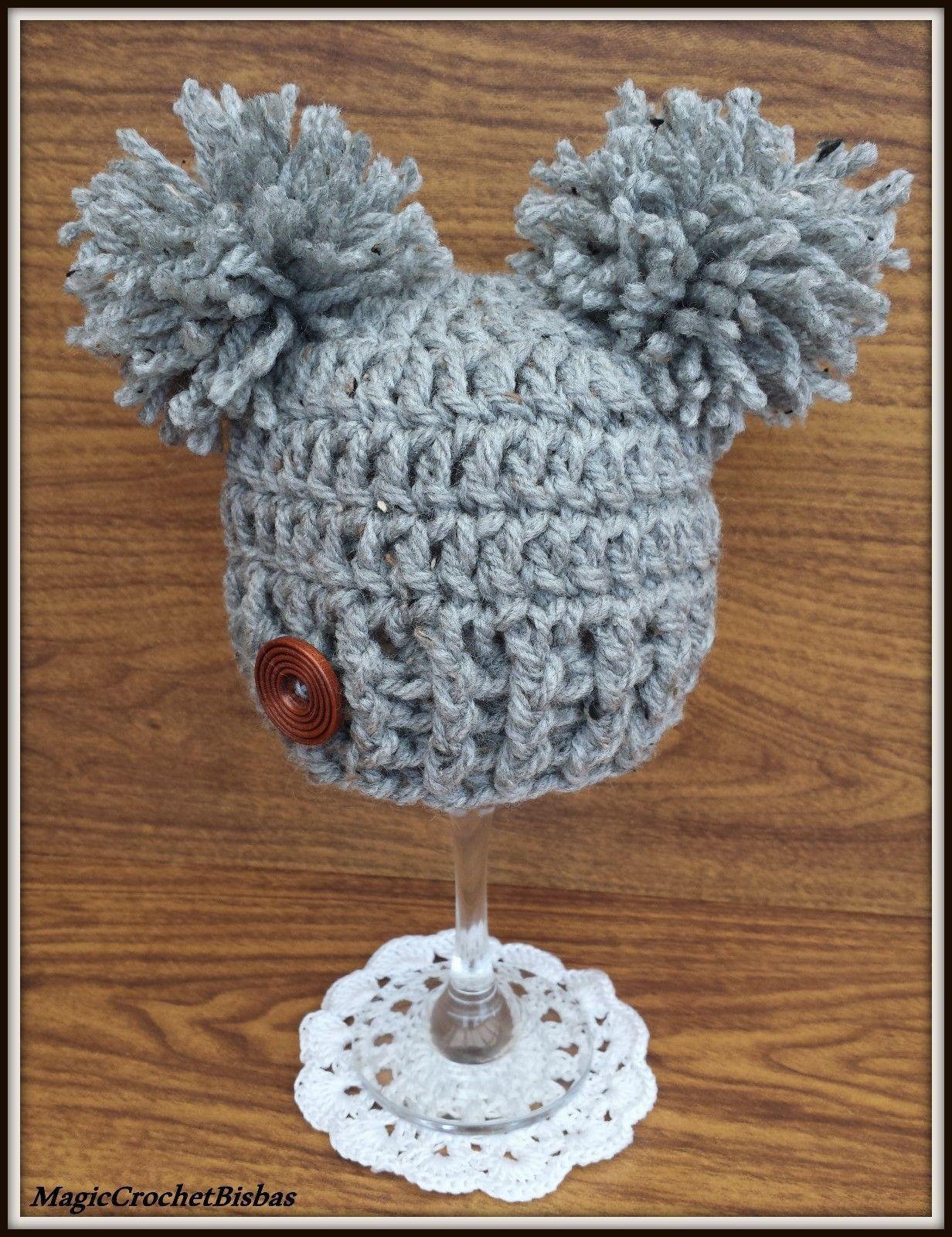 6 GBP - Crochet Little Pompom Hat Photo Prop Gift Baby Shower Hat ... 550c60c8dc9