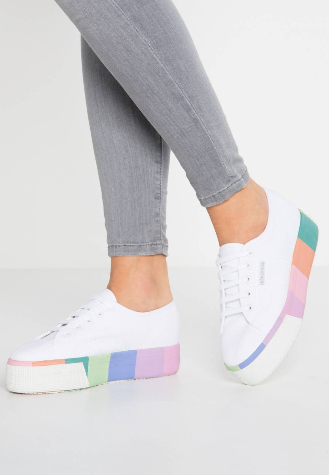 new product 5f56d a92d3 COTMULTIFOXINGW - Sneaker low - white multicolor.  zalandoDE  Sohle Kunststoff