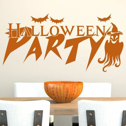 Photo of East Urban Home Wall Decal Halloween Party, Ghost | Wayfair.de