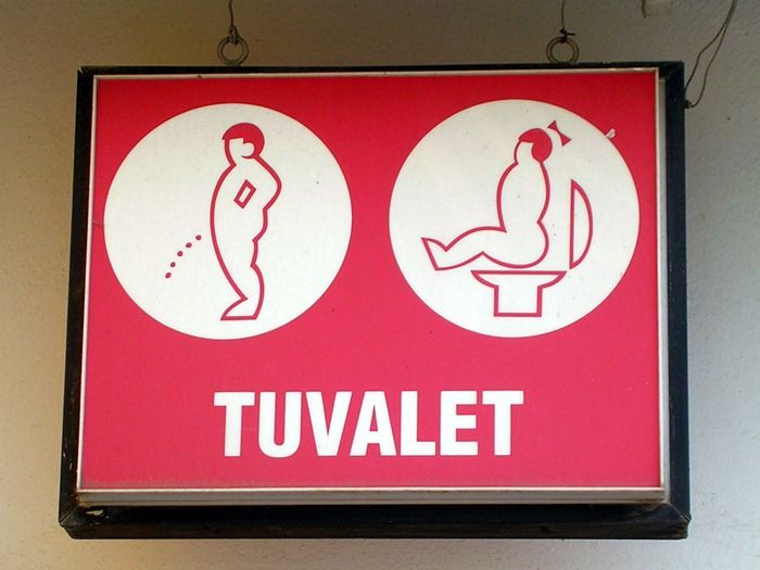 Creative And Funny Toilet Signs From Around The World Amusing - International bathroom signs