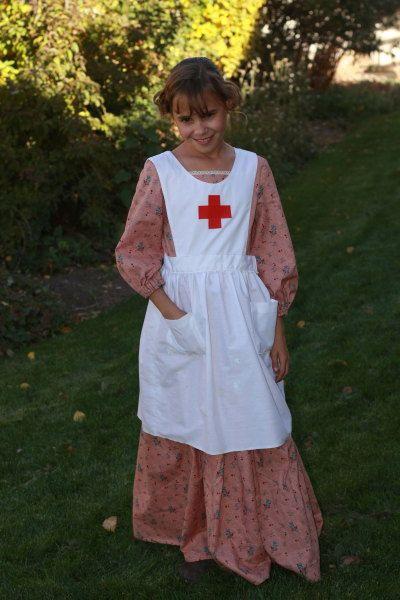 5f4fa1d97a66b Clara Barton   Costumes   Clara barton, Science costumes, School ...
