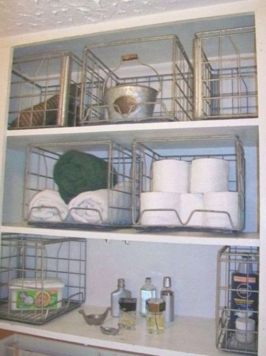 Vintage 50er Jahre Draht Milchkiste Drahtkorb Küche Bad