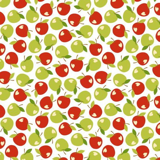 Bitten apples Art Print