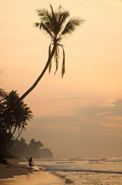 Thalpe, Unawatuna, Southern Province, Sri Lanka...