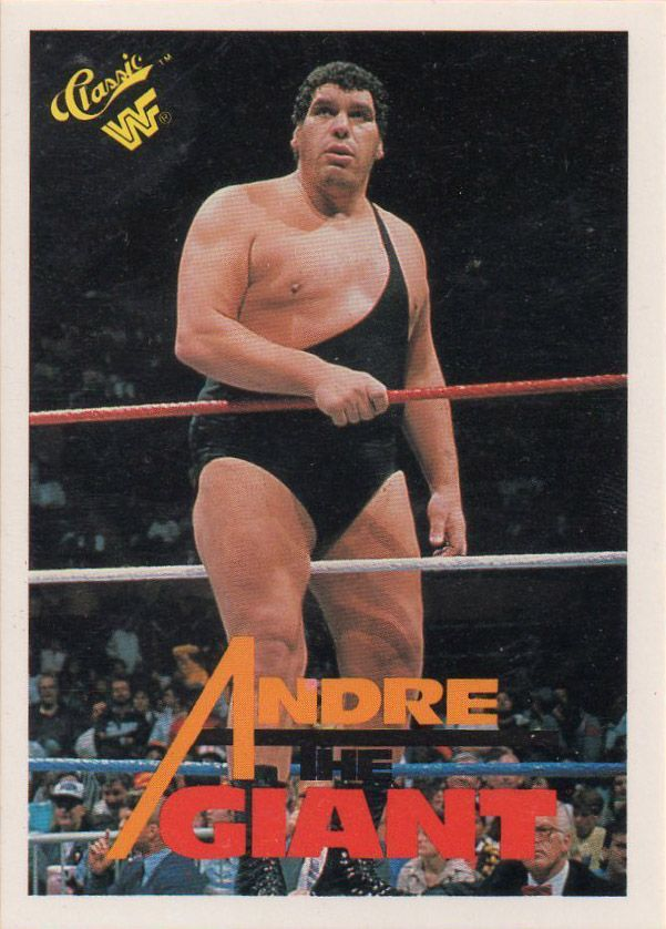 Pin By Rick Burgess On Sports Cards Andre The Giant Wrestling Superstars Wrestling Stars