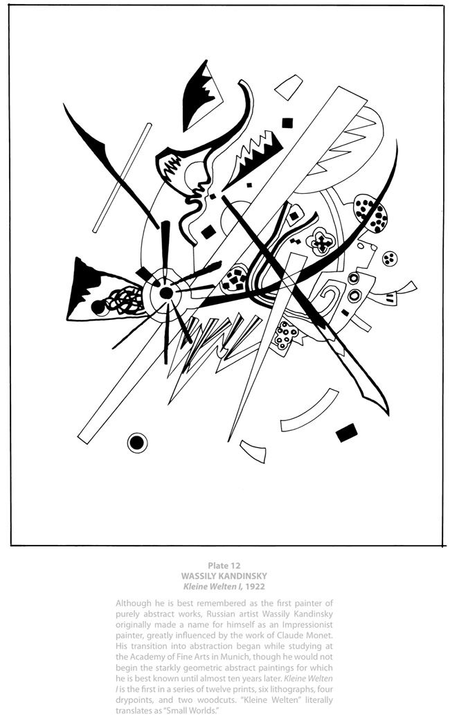 Welcome To Dover Publications Masterworks Color Your Own Modern Art Paintings