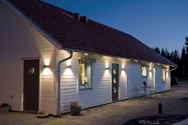 villa nystuga v rt l genergihus p landet ljuss ttning del 6 fasadbelysning outdoor. Black Bedroom Furniture Sets. Home Design Ideas