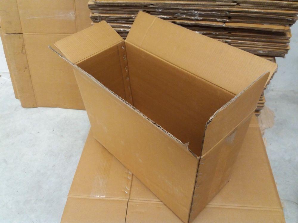 10 Cajas De Carton 57x40x26 Cms Resistencia Extrema Triple Canal