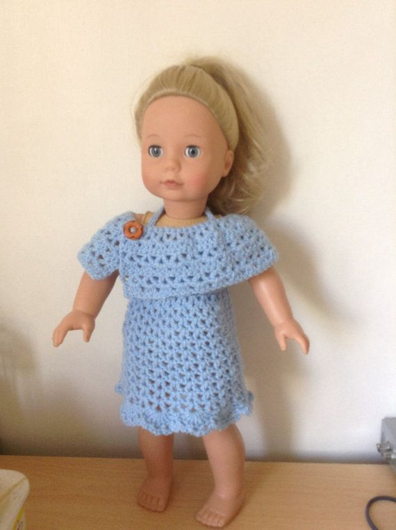 American Girl, Gotz doll clothes - hand crocheted 18 inch doll ...
