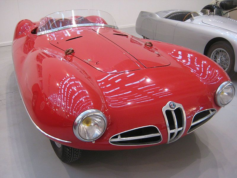 Disco Volante Spider Front Classic sports cars, Vintage