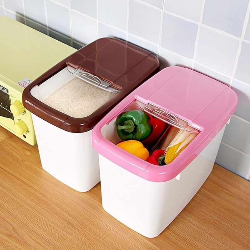 Cheap Container Storage Box Buy Quality Container Box Directly From China Box In Box Sup Food Storage Containers Plastic Food Storage Containers Flour Storage