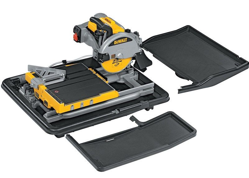 Best Tile Saw For The Money Our Top 5 Picks Sharpen Up Dewalt