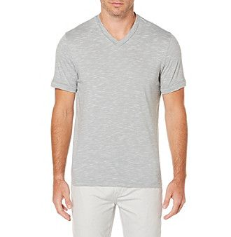 Perry Ellis® Men's Short Sleeve Slub Knit Tee