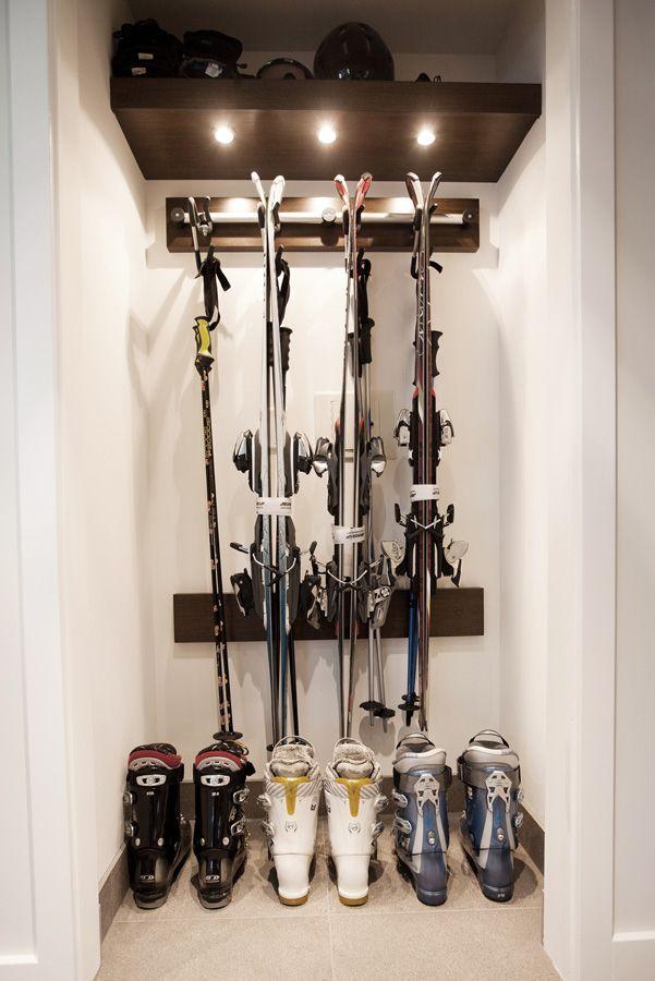 Sitka Whistler Renovations Ski Storage