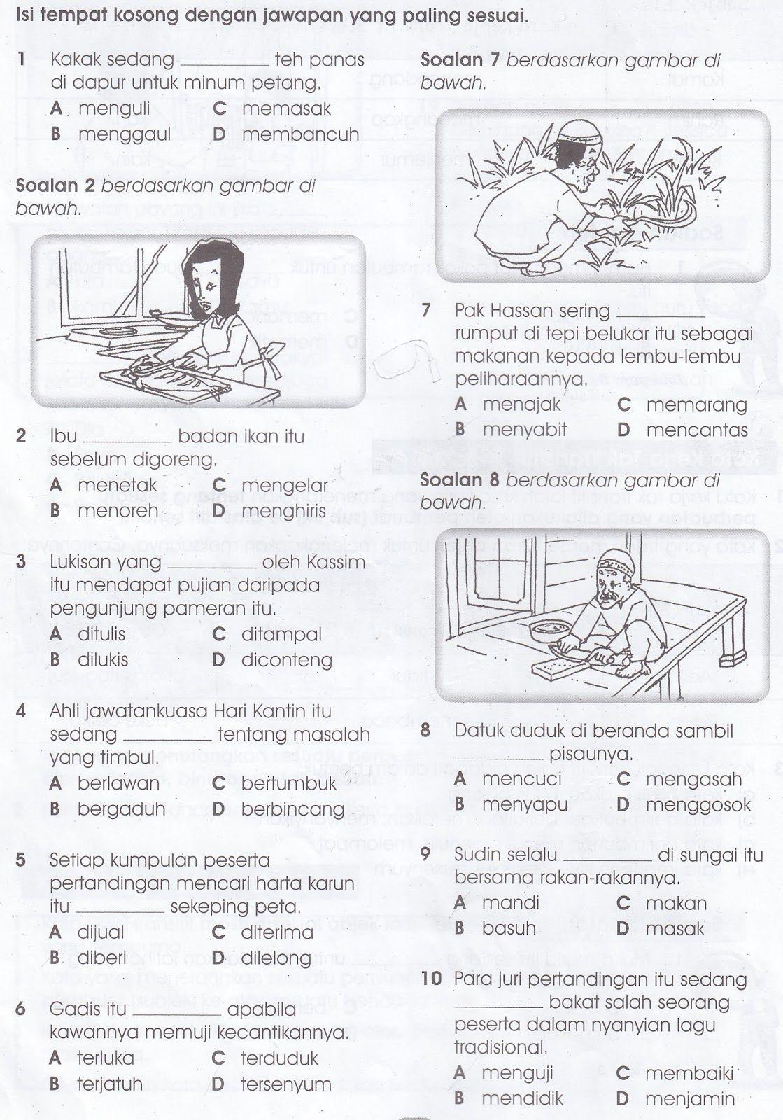Image Result For Kata Kerja Imbuhan Darjah 1