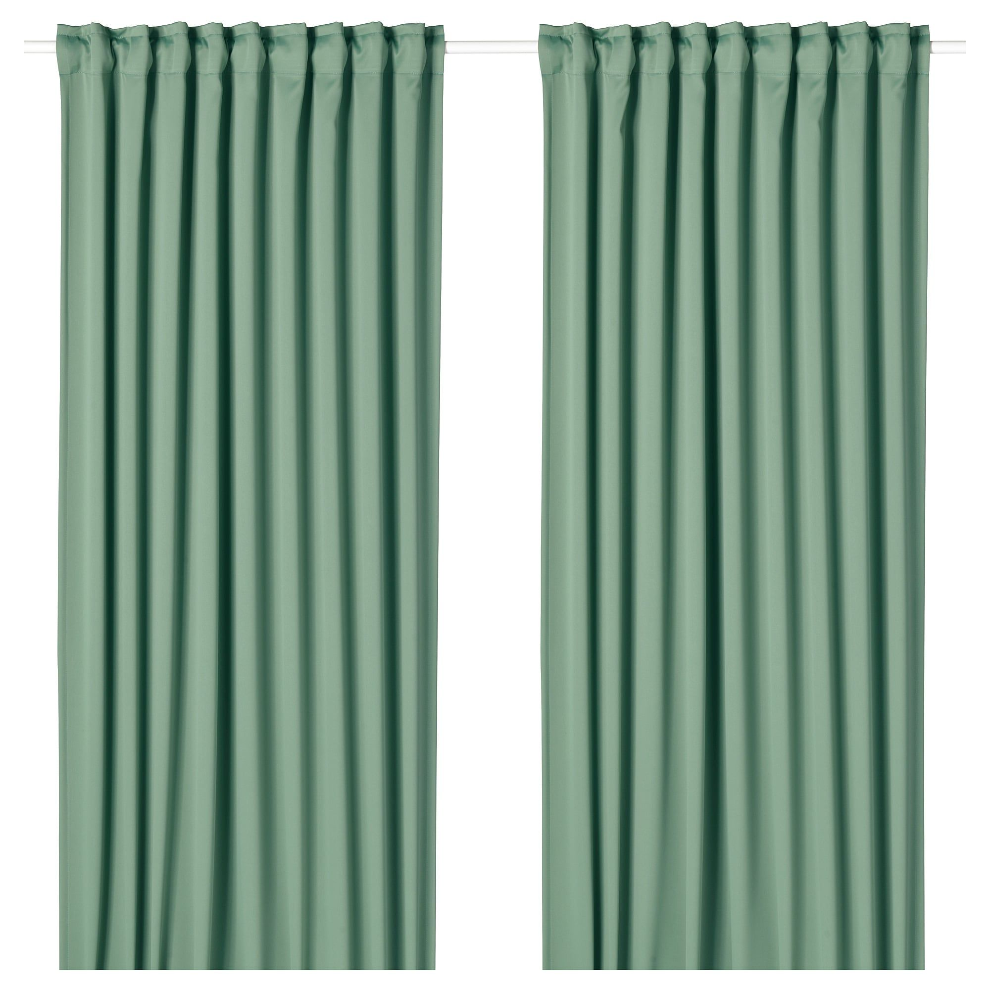 Ikea Vorhänge Majgull Majgull Blackout Curtains 1 Pair Green In 2019 M M S
