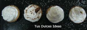 Yo cocino, tu friegas: Cupcakes de Coquito Puertorriqueño de nuestra amiga Ivette de Tus Dulces Ideas