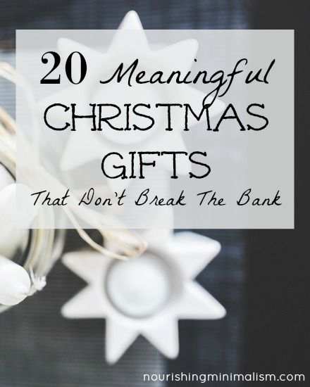 give inspired gifts this year gifts that will continue to bless people all year long