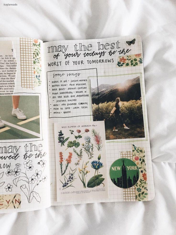 bullet journal bujo planer ideen für wöchentliche spreads studygram studygram ...