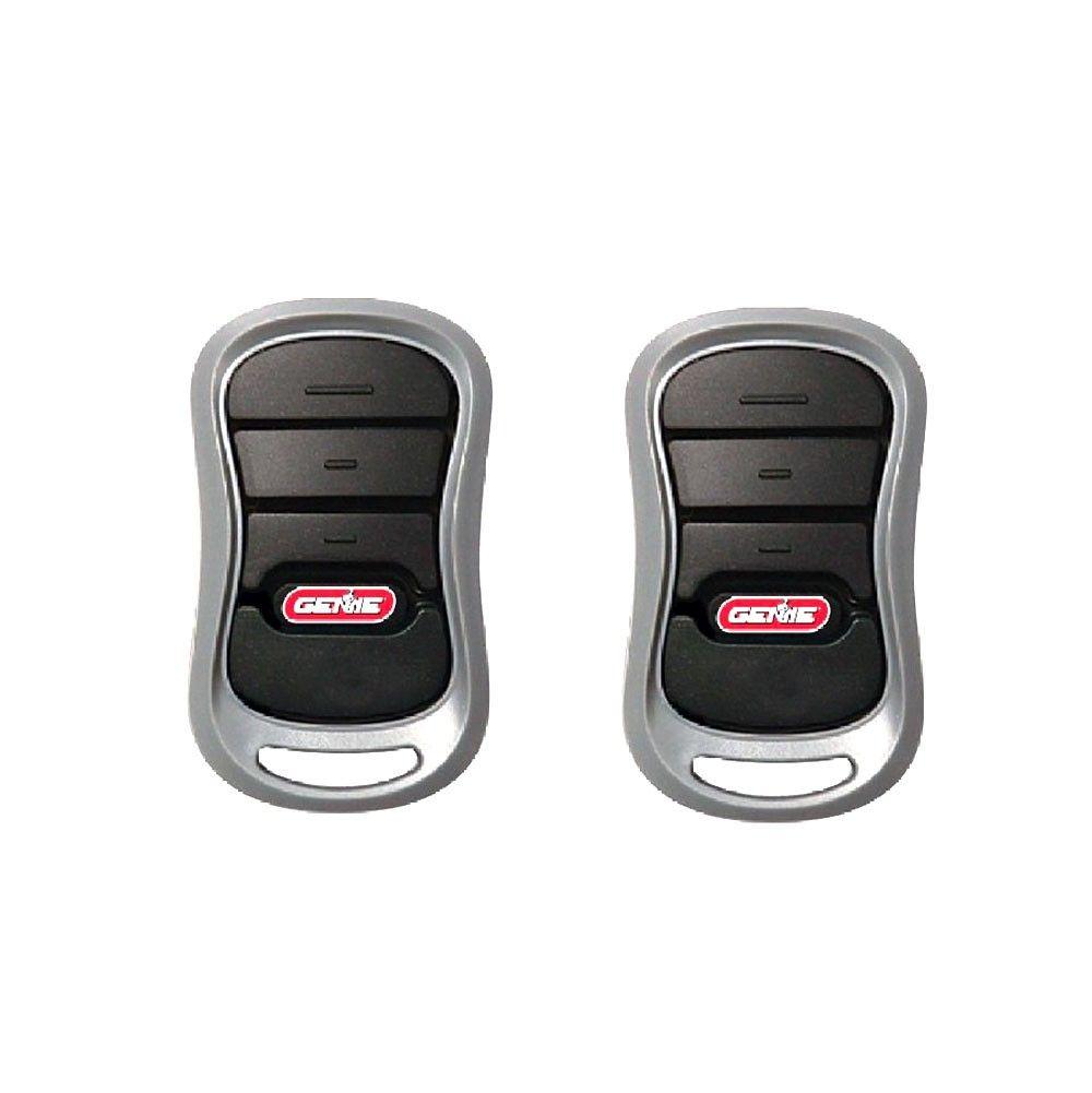Open Box Genie G3t Bx Intellicode Ii 3 Button Mini Remote 37218r 2 Pack Rp 30 00 Sp 22 00 Mini Remote Diy Garage Door