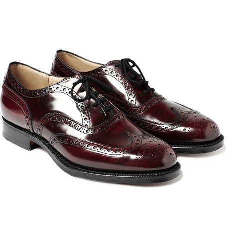 9b440e5b Church's Patent Burwood Wingtip Brogues | My style in 2019 | Shoes ...